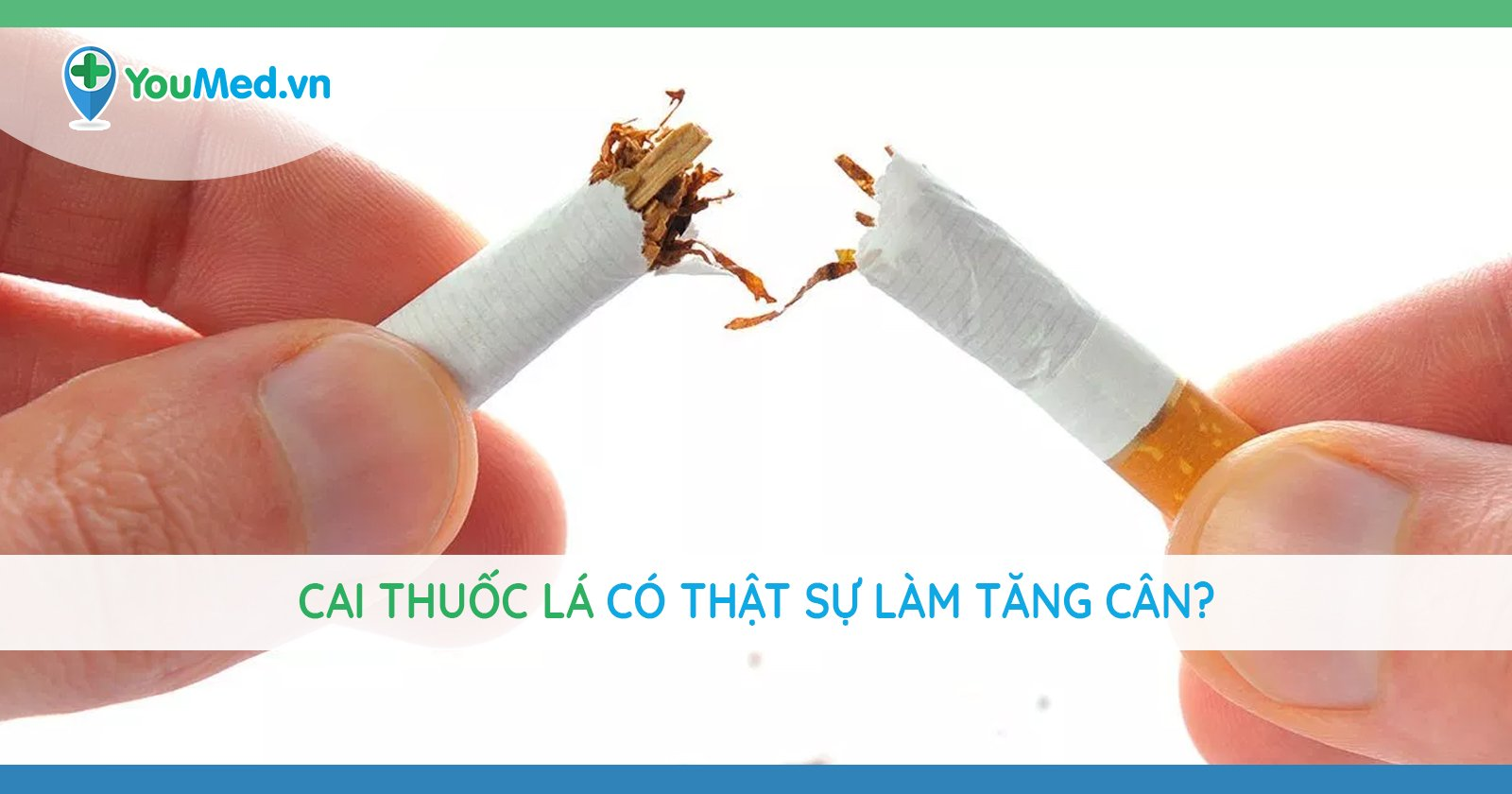 Cai thuốc lá có thật sự làm tăng cân? Làm sao để giữ cân nặng và vóc dáng khi bỏ thuốc?