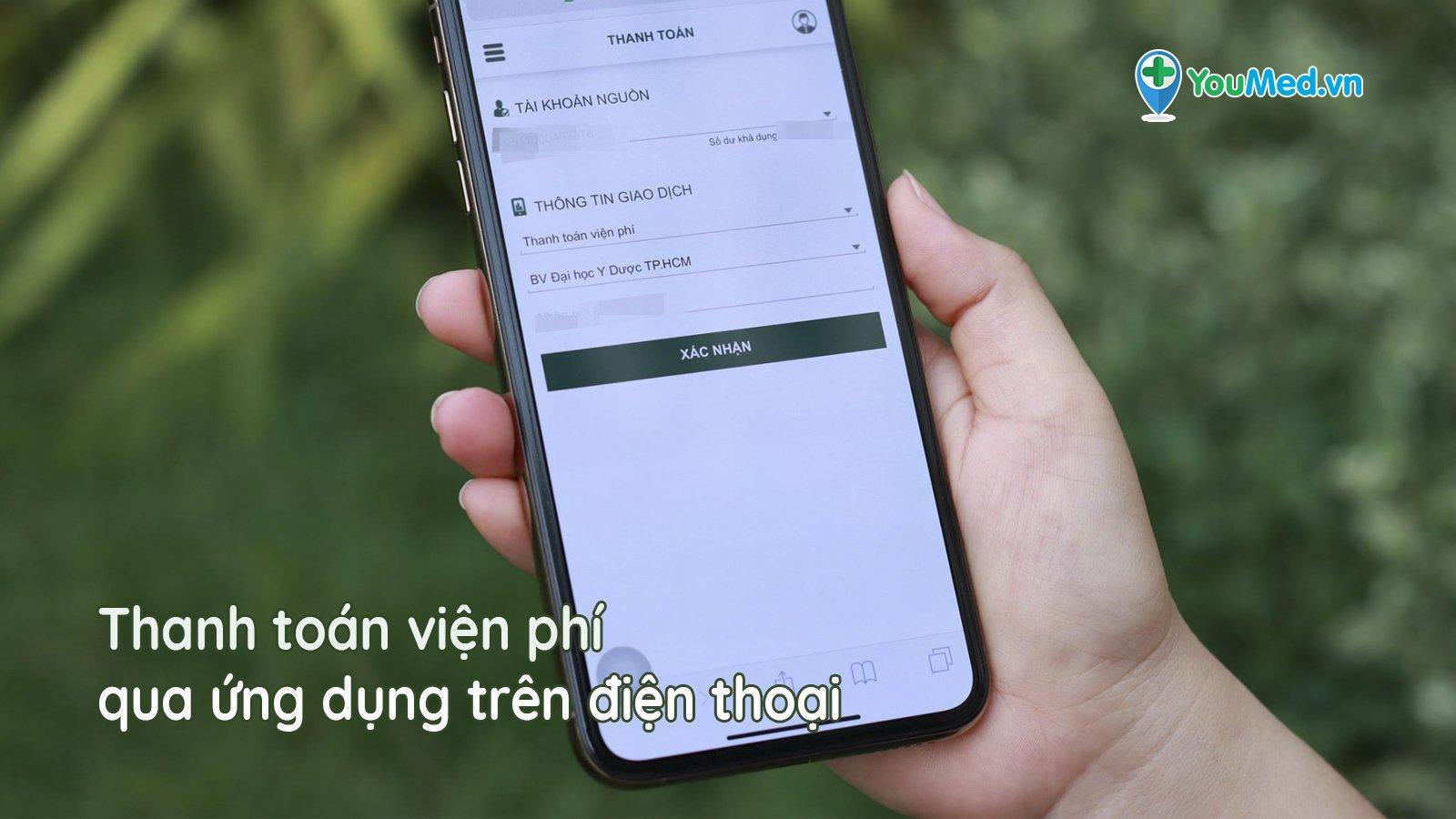 Không cần tiền mặt: Đã có bệnh viện đầu tiên thanh toán qua ứng dụng điện thoại