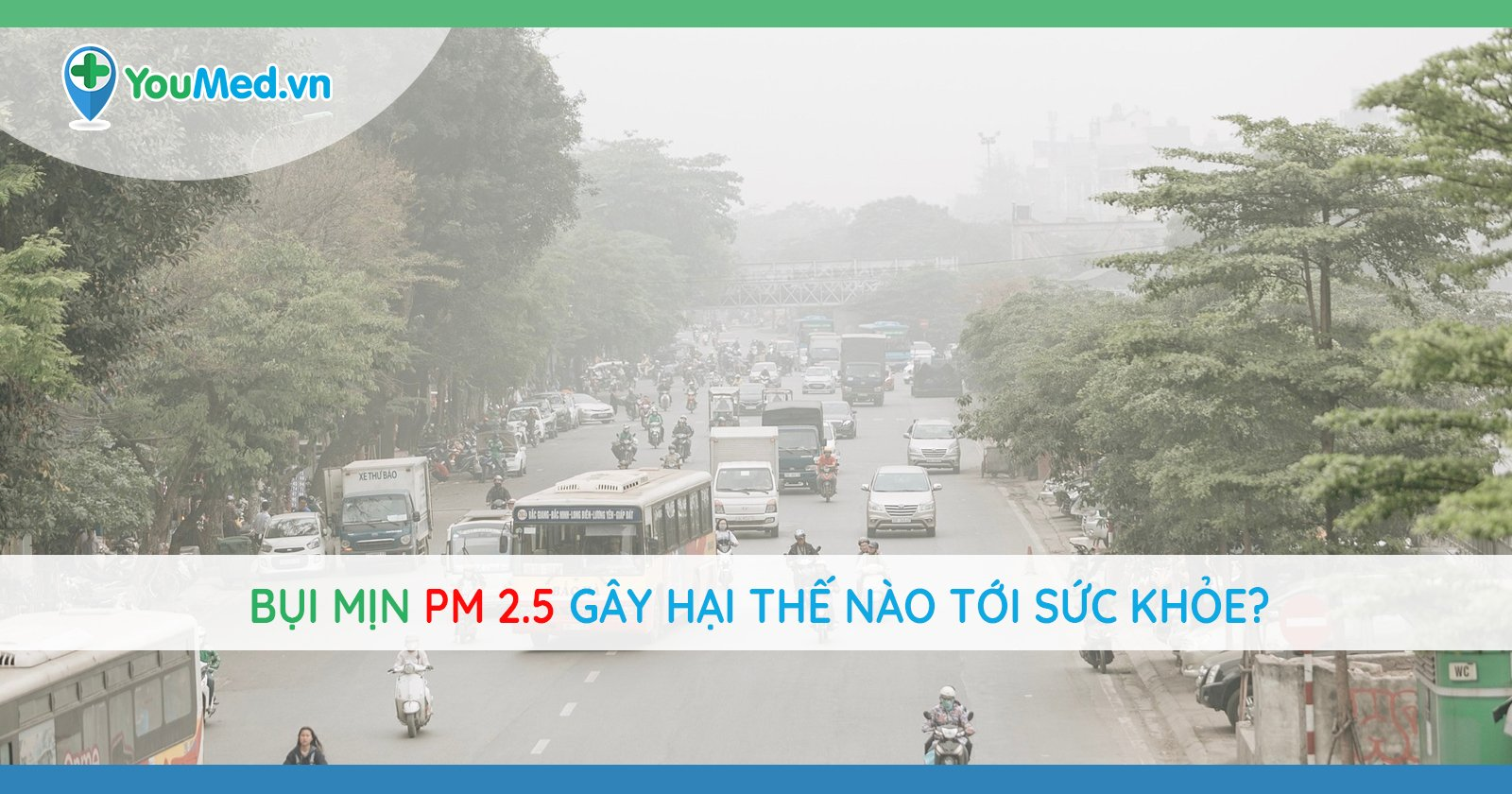 Ô nhiễm không khí, bụi mịn PM2.5 gây hại thế nào tới sức khỏe?