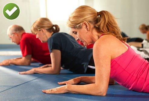 bài tập giảm đau lưng 4