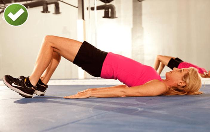 bài tập giảm đau lưng 5