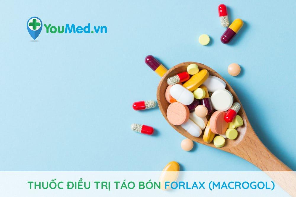 Thuốc điều trị táo bón Forlax (macrogol)