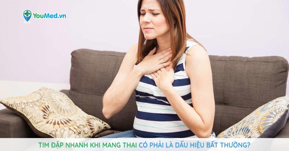 Tim đập Nhanh Khi Mang Thai Co Phải La Dấu Hiệu Bất Thường Youmed